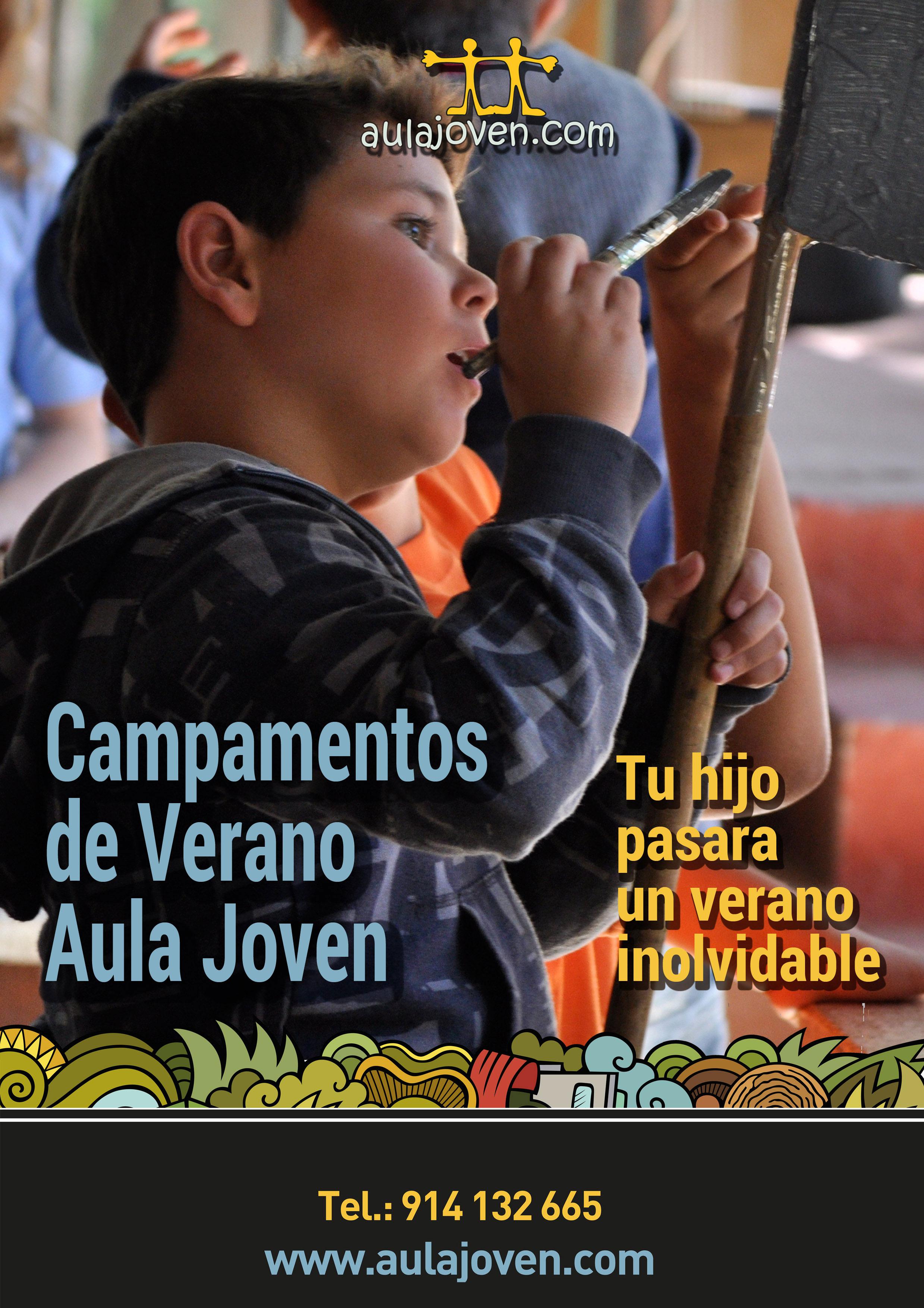 Revista ONLINE de campamentos de verano AULA JOVEN 2017