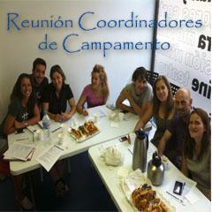 Reunion Coordinadores de Campamento