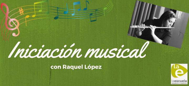 Iniciación musical con Raquel López