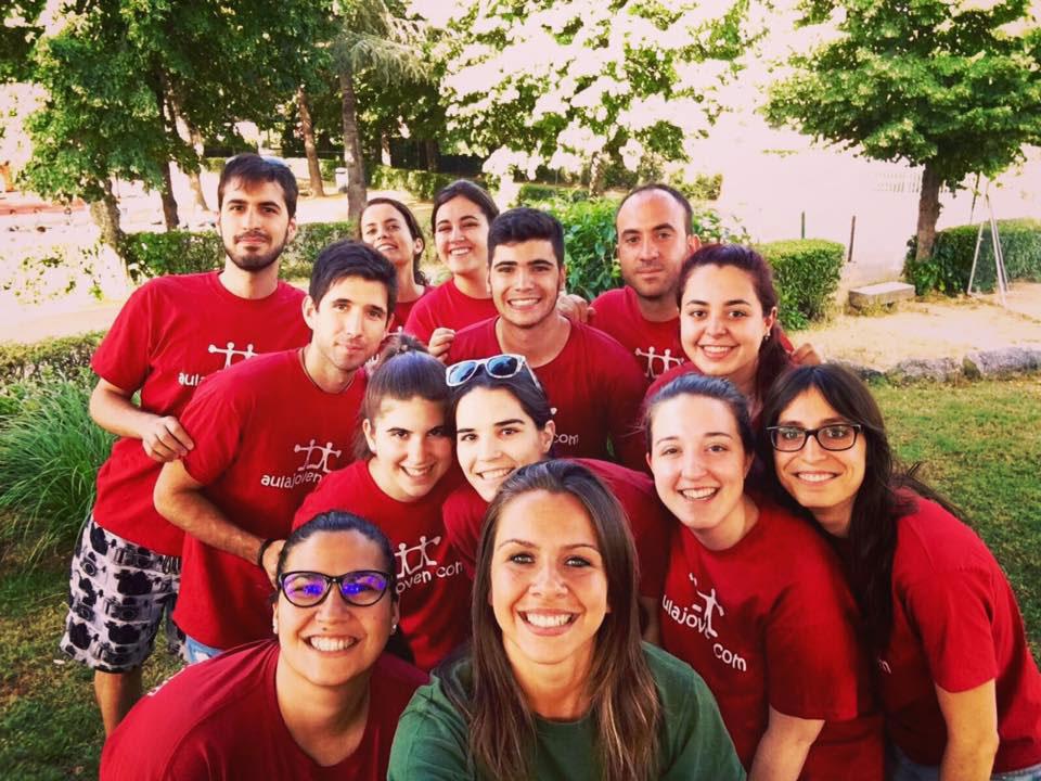 Equipo de trabajo AULA JOVEN campamentos de verano primer turno 2016