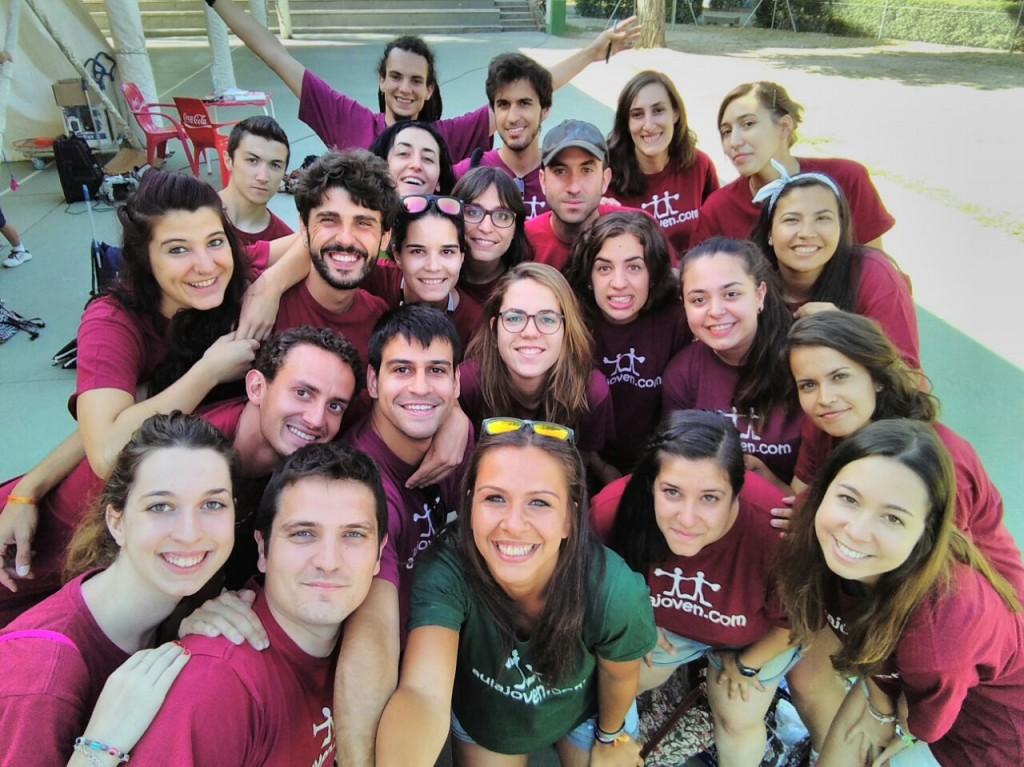 Equipo de trabajo Madrid -Campamontes-