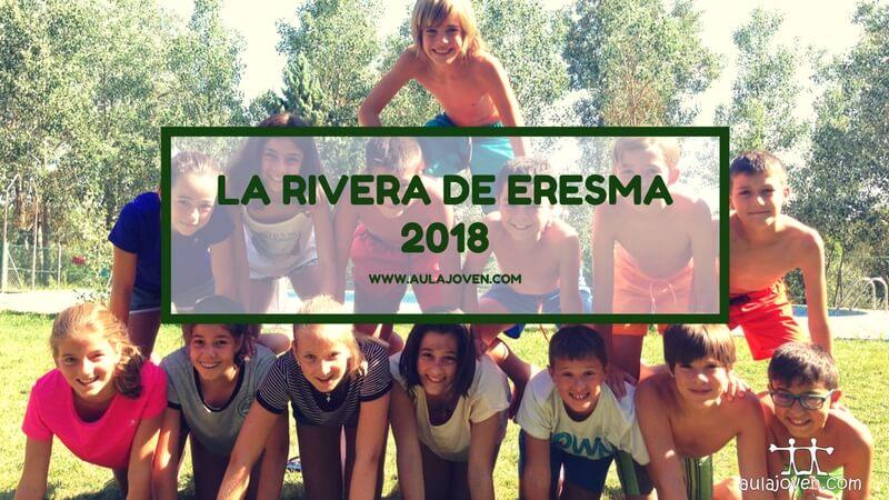 La Rivera de Eresma. Campamento 2018