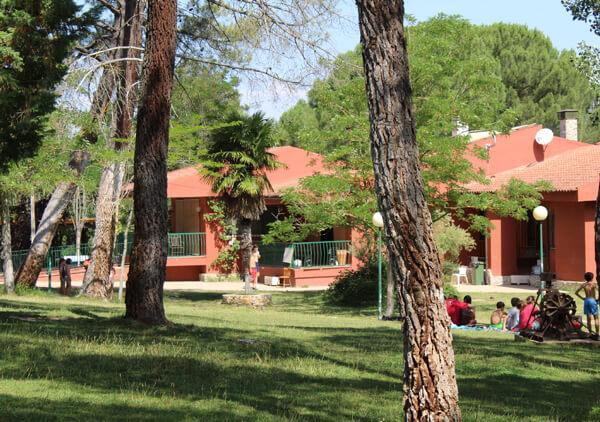 Campamento de verano en Madrid La Rivera de Eresma