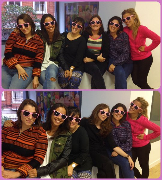 Aula Joven con #sumatealrosa